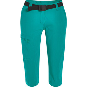 Maier Sports Inara Slim 3/4 Pants Women, viridian green